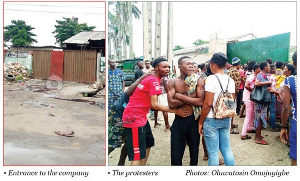Lagos Govt Seals Off Chinese Factory Where 16-Yr-Old Boy Was Electrocuted To Death