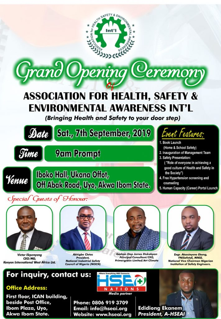 New Safety Group Set To Debut In Nigeria