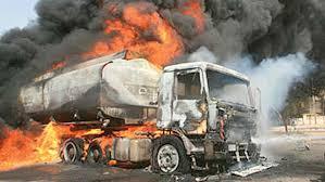Lagos-Ibadan Tanker Explosion One Dead, Four Injured