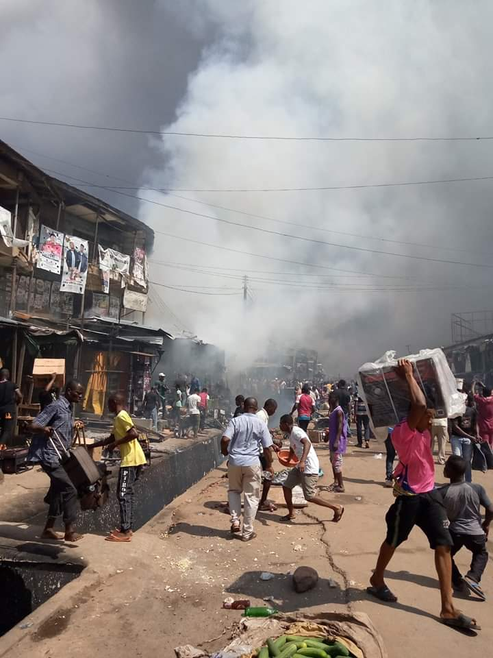 Just In: Scores Feared Dead As Tanker Explodes In Onitsha