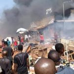 Update: Woman, Baby Die In Onitsha Fire Outbreak