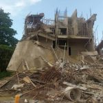 Just In: Several Trapped In Another Collapsed Building At Ikoyi