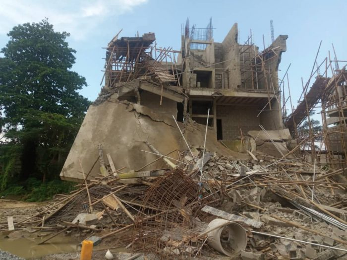Ondo: Teenager Killed In Collapsed Church Building