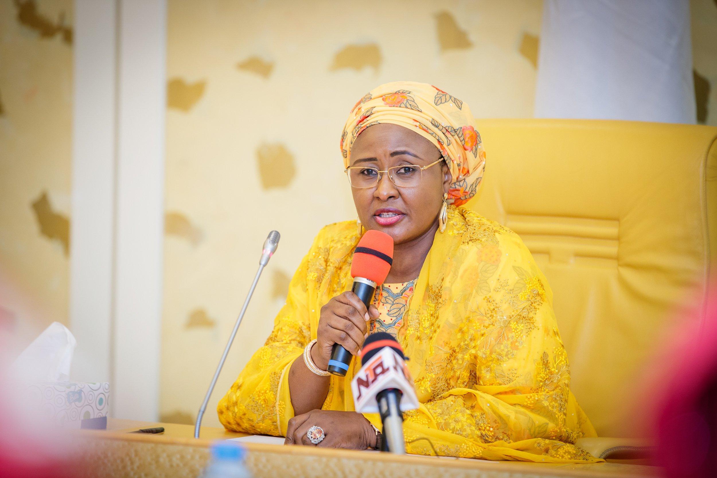 Child Malnutrition Scourge Must End In Nigeria -Aisha Buhari