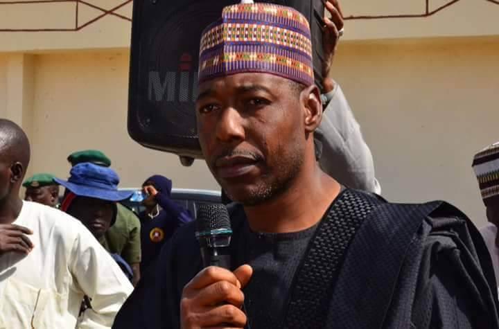 Borno Governor Vows To Investigate GSM Market Fire Outbreak
