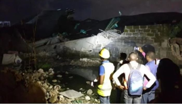 Update: One Dies, Four Injured In Ikoyi Building Collapse