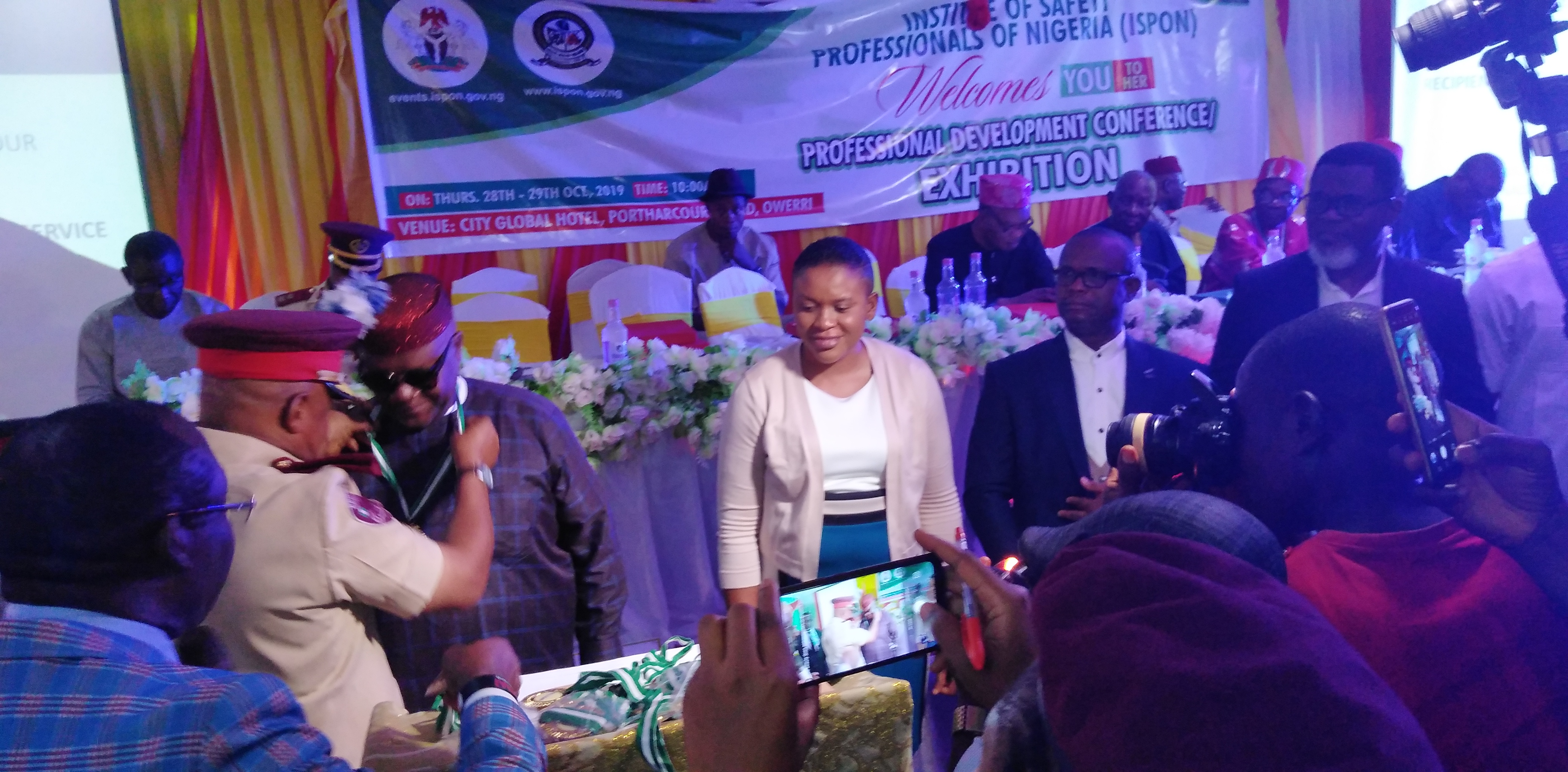 ISPON Conference: NNPC GMD, Police IG Others Confered Fellow Of The Institute