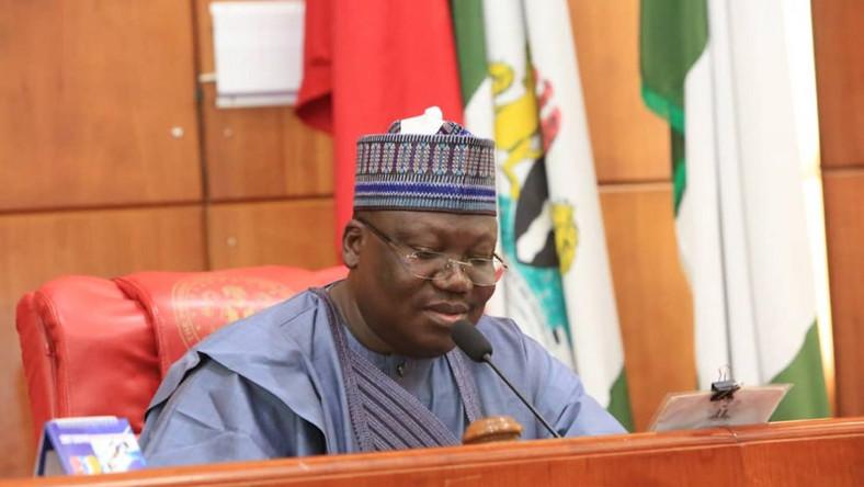 Borno Fire: Senate President Lawan Commiserates With Victims