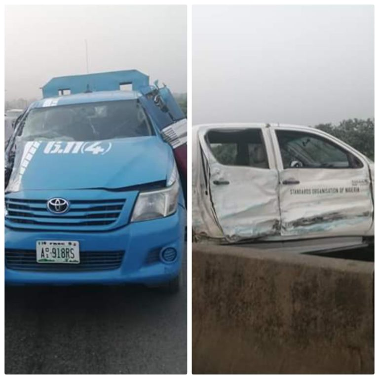 SON Accident ; FRSC Patrol Vehicle Driving Against Traffic Crashes