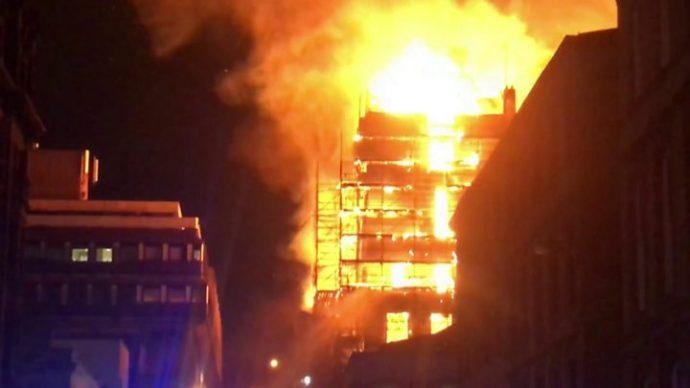 Breaking: Another Fire Outbreak In Ibadan, (Video)