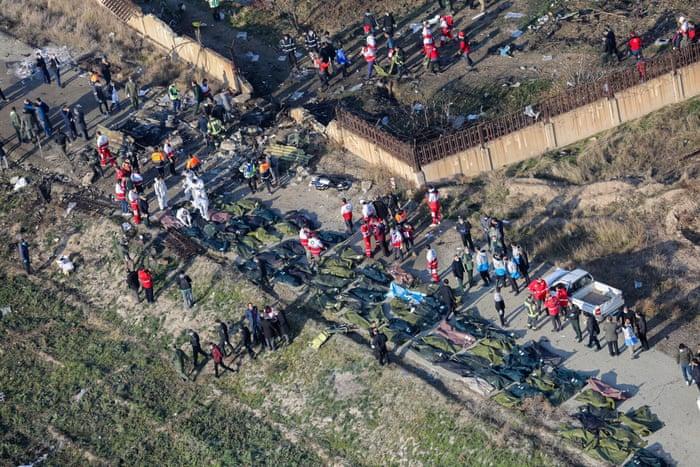 176 Killed As Boeing 737 Plane Crashes going with Ukrainian  plane