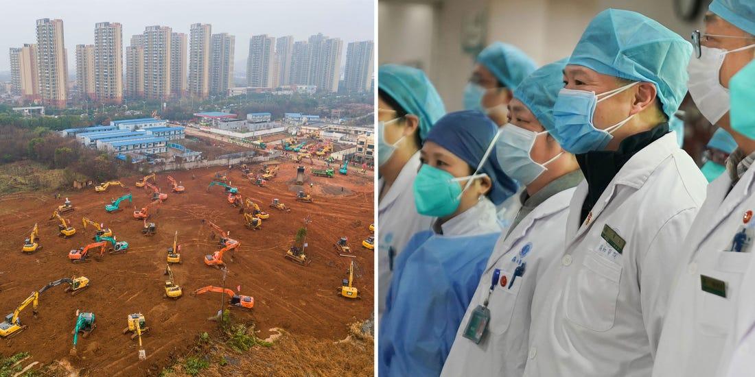 #coronavirus: China To Build 1000-Bed Hopsital In Six Days