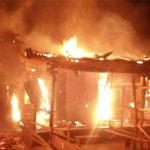 BREAKING: Sabo Market In Sagamu Is On Fire