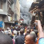 BREAKING: Another Fire Outbreak Erupts At Balogun Market