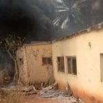 Fire Guts INEC Office In Anambra