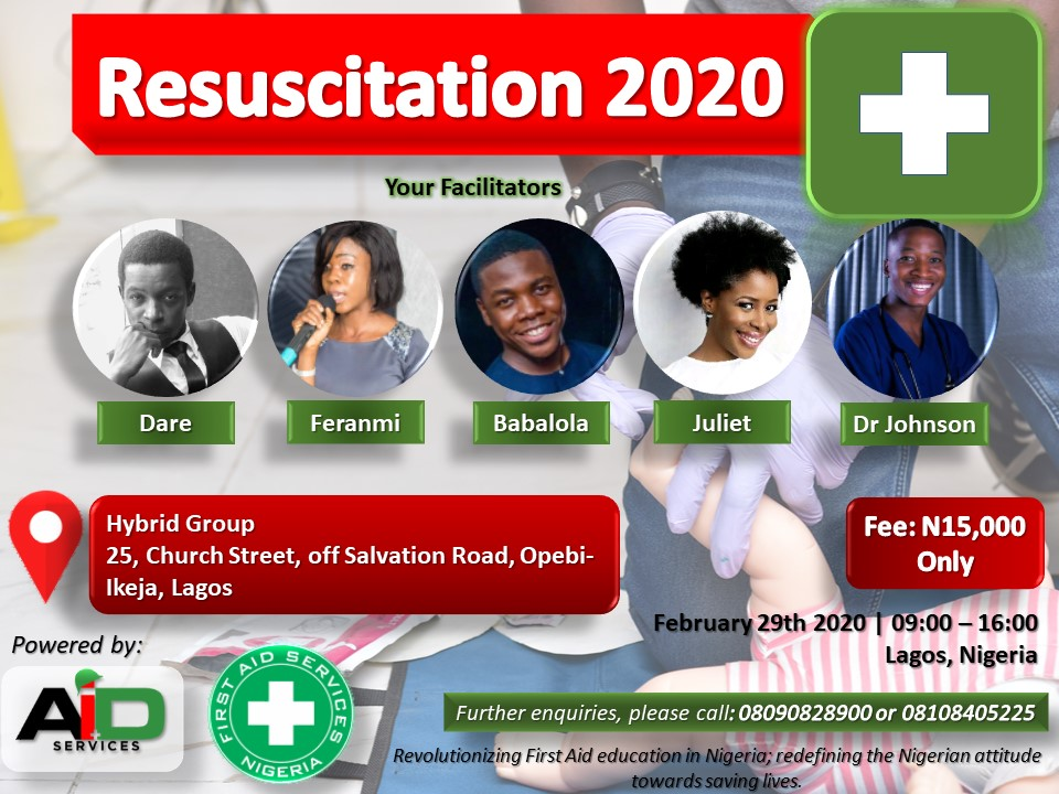 FAS, AIDS Set To Hold A One Day Resuscitation Training