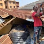 Anambra: Tragedy As Falling Overhead Water Tank Kills 2, Injures 2 School Kids