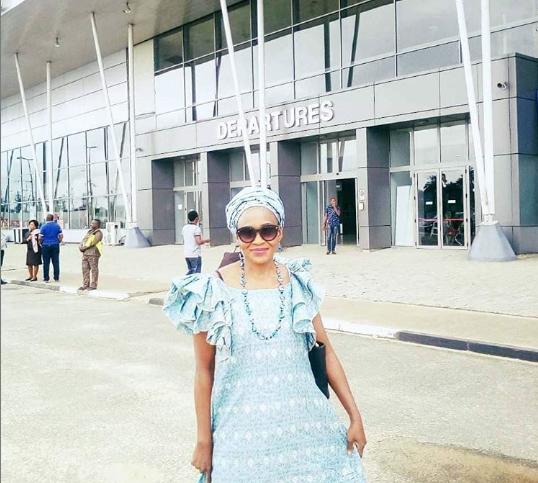 Coronavirus: Kemi Olunloyo Shares Shocking Airport Experience