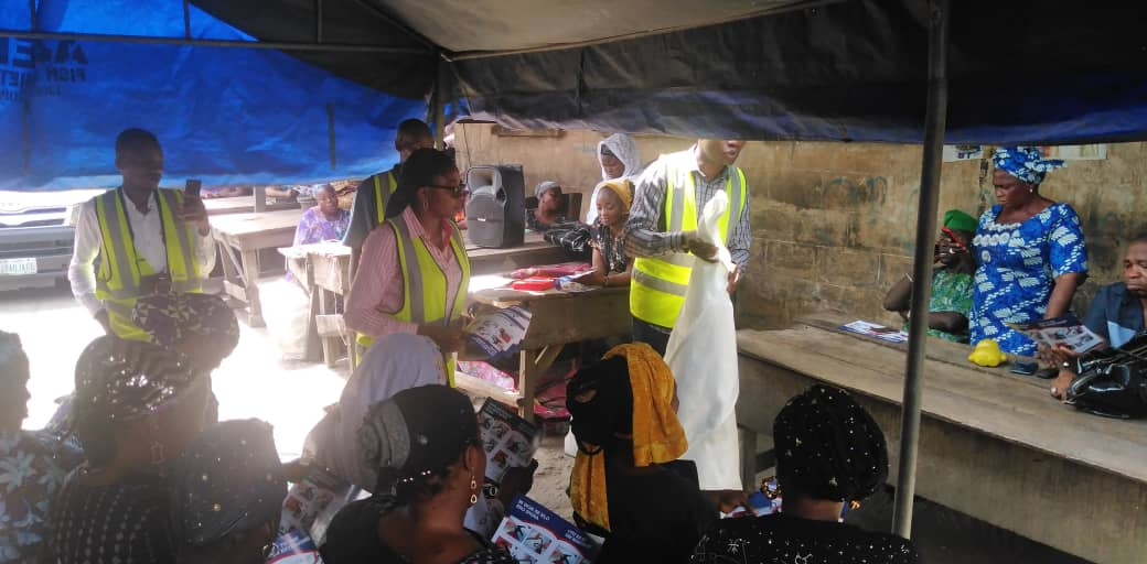 Altitude Group HSE Team Sensitise Traders On Fire Prevention