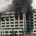 JUST IN: Fire Guts Accountant-General's Office