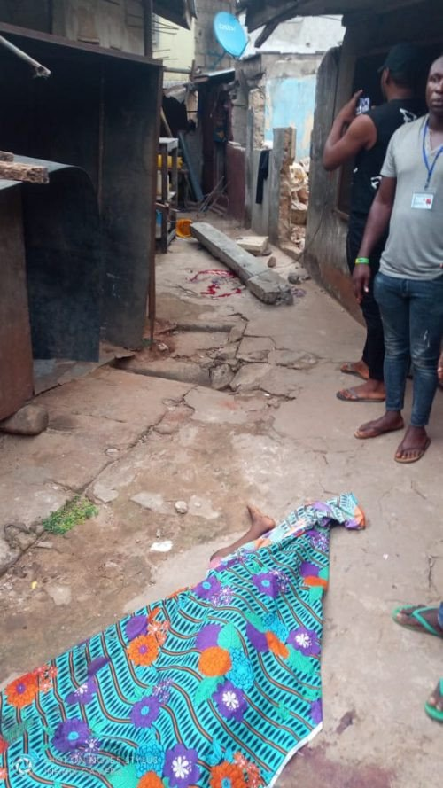 Sad!! Dilapidated Building Collapses On 9-Year-Old Girl
