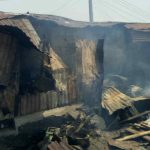 Fire Guts Three Buildings, 15 Shanty Structures In Ajah
