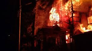 Fire Guts Agidigbo Radio Station In Ibadan