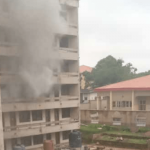 JUST IN: Fire Guts NIPOST Headquarters In Abuja
