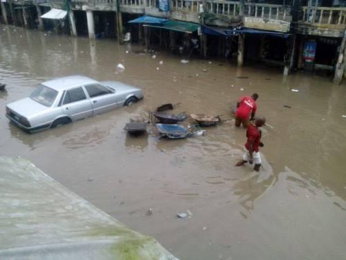 Rainy Season: Flood Renders Residents Homeless In Aba