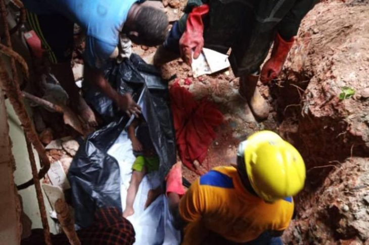 Two Children Dead As Building Collapses In Lagos