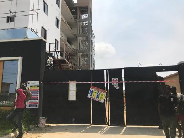 Lekki Building Sealed- HSENations