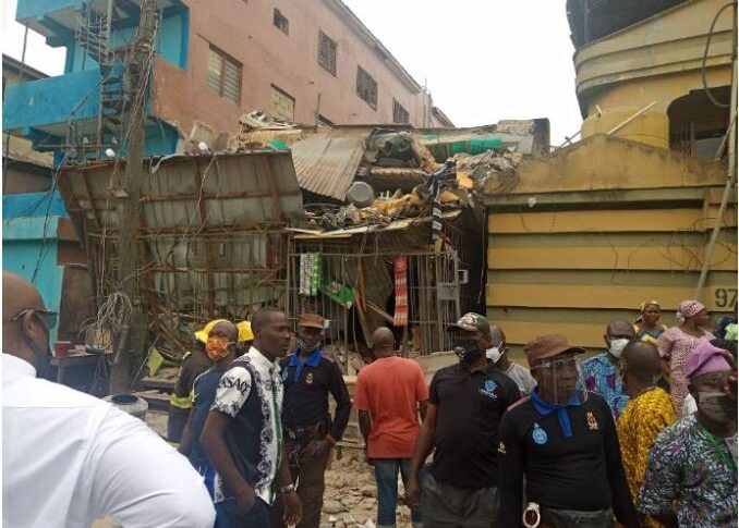 Lagos Building Collapse: NIOB, BCPG Seek Demolition Of Distressed Structures