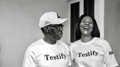 Delta State Governor Ifeanyi Okowa and Wife