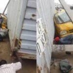 Oshodi-Badagry Expressway: 20-Feet Container Kills Two, Others Injured