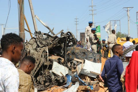 Atleast five persons have been reported dead and ten injured during Somali bomb attack.