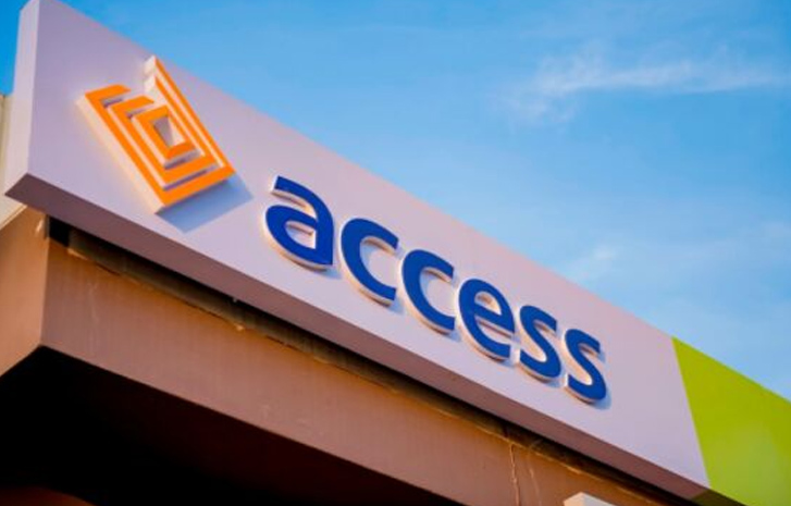 JUST IN: Access Bank On Fire