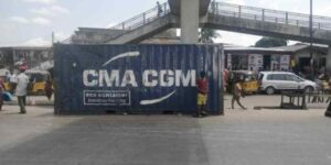 The 40feet container that killed Chidinma Ajoku