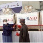 COVID-19: Nigeria Receives Ventilators Donation From United States