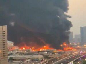 UAE FIRE OUBREAK