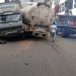 5 Escapes Death As Fuel Tanker, Truck Collide On Onitsha Bridge