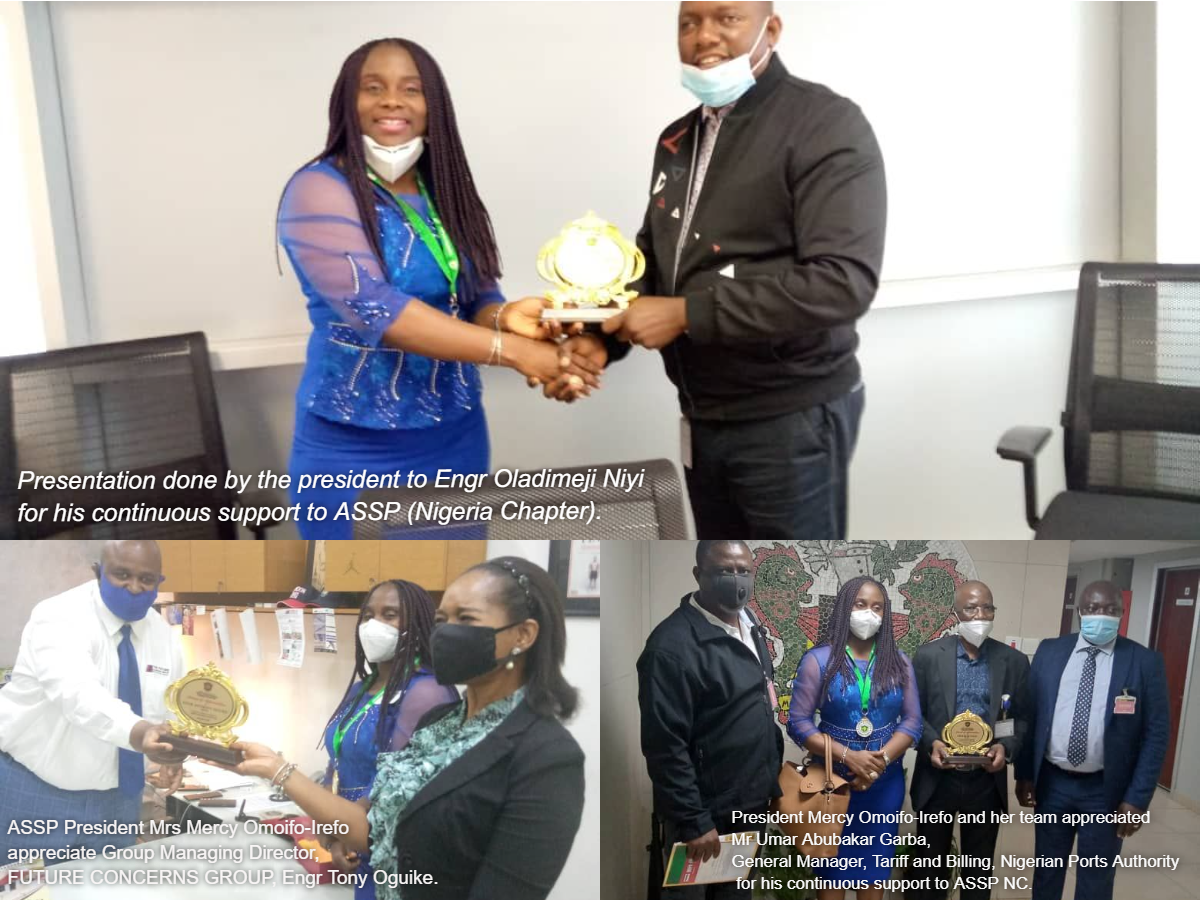 ASSP Awards Dapo Omolade, Umar Garba, Others For Their Support Roles