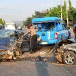 Overspeeding Vehicle Knocks Unaware Pedestrian To Her Death