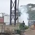 Breaking News: Burst NNPC Gas Pipeline On Lagos-Ibadan Expressway Causes Girdlock