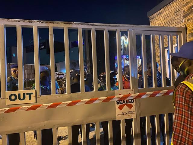 LSSC COVID Club Shutdown