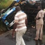 Brake Failure Accident: Three Persons Burn To Death on Valentine Day