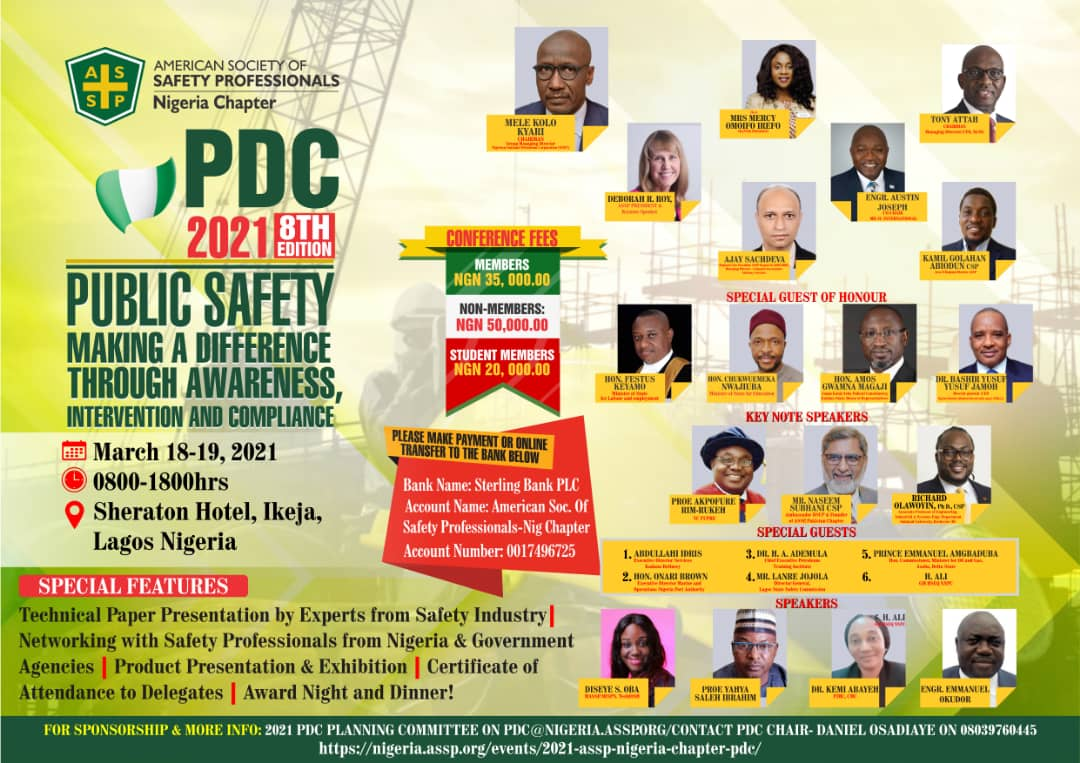 ASSP Nigeria Professional Development Conference 2021