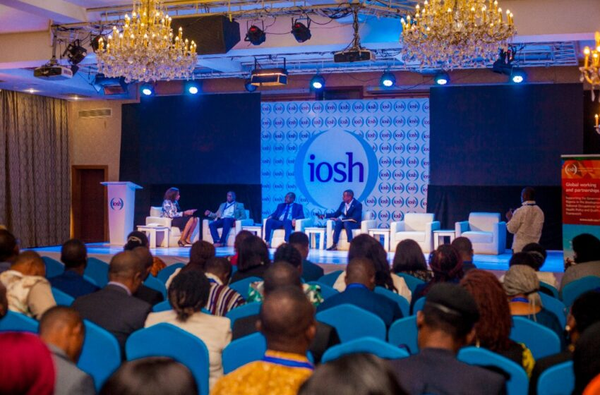 """IOSH set to Organize """"A Brighter, Safer Future safetyConference"""