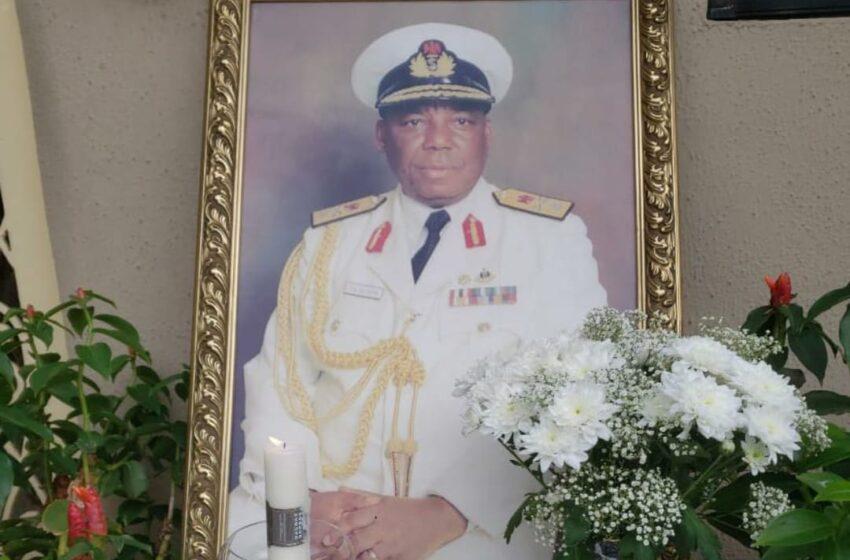 AfriSAFE Chairman, Rear Admiral S. A. Olukoya Pass on